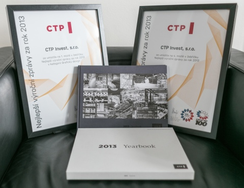 CTP Annual Report 2013 Awarded